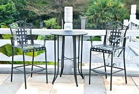 outdoor bar height bistro table outdoor bar height chairs dining sets outside bistro table for gorgeous