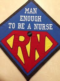 Graduation Cap Designs For Guys Male Nurse Graduation Cap College Nursing Superman I Am