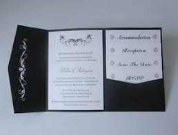 Details About 30 Personalized Wedding Pocket Invitation Diy Cards Silver Heart Ribbon Envelope