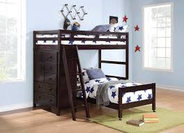 green black mesmerizing:  black solid wood twin loft bed complete with drawers and stair metal pull handle star pattern duvets and pillows laminate oak wood flooring green wool