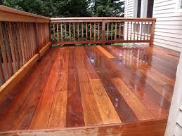 this is deck made of mahogany i use special methodes to bring back the original look your mahogany deck stain30