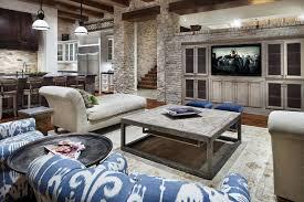 Eclectic Rustic Decor Living Room Rustic Modern Living Room Furniture Medium Carpet