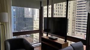 Wyndham Midtown 45: Living Room Area In 2 Bedroom Presidential Suite