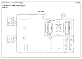 repair guides g 3 8 dohc (2007) fuse & relay information Hyundai Entourage Fuse Box Diagram schematic diagrams, page 06 (2007) 2008 hyundai entourage fuse box diagram