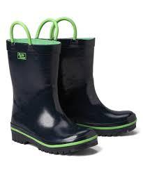 Pluie Pluie Navy Lime Rain Boot Kids