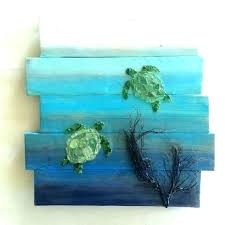 beach glass crafts art sea framed diy ideas paint awesome decorating with interior design craf sea glass