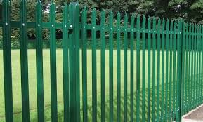 Palisade - GP and <b>security</b> grade steel <b>palisade fencing</b> | Barkers ...