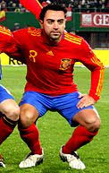 xavi  xavi at the 2010 fifa world cup