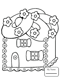 Gingerbread Boy Coloring Page At Getdrawingscom Free For Personal
