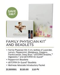 Doterra Family Physician Kit Enrollment Bluebird Eo