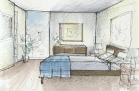 Plain Interior Design Bedroom Drawings Drawing Impressive Decoration Window Fresh At To Inspiration Decorating