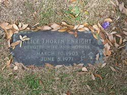 Alice Thoren Enright (1903-1971) - Find A Grave Memorial