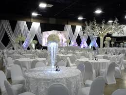 Spectacular winter wonderland wedding decoration ideas Reception Decorations Winter Wonderland Wedding Decour This Is Large Venue In California It Doesnt Look As Attractive As One Might Think But After Were Done Its Gonna Look Pearloasisinfo Vaselia Convention Center Reception Decor Ideas