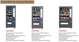 Soda Vending Machine Dimensions Classy 48 Snack And Drink Combo Vending Machine With Ce Used Snack