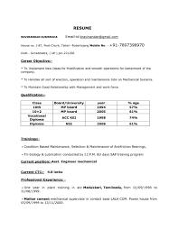 Iti Resume Format Mumbai Resumeformatindia Cv Looks In Word