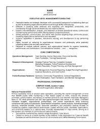 Management Consulting Resume Berathen Com