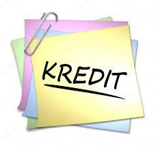 memo kredit german memo with paper clip kredit stock photo pdesign 2944867
