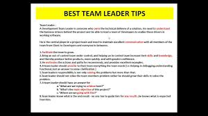 8 Good Qualities Of A Team Leader