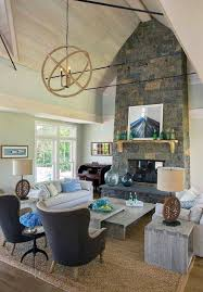 Living Room:Simple Living Room Designs With Vaulted Ceilings And Dark Grey  Swiwel Chair Decorating