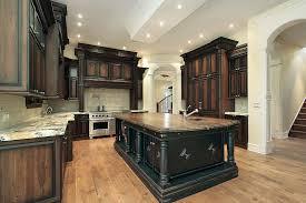 dark stained kitchen cabinets. Modren Kitchen Dark Stained Kitchen Cabinets For T