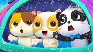 Chúng mình không thích trời mưa | Mèo con bị ốm | Nhạc thiếu nhi vui nhộn |  BabyBus | Tổng hợp những bản nhạc tiếng Anh cho bé hay nhất. -
