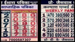 Kalyan Weekly Follow Jodi Zagonproxy Yt