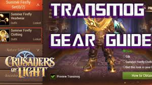 Crusaders Of Light Requirements Transmog Guide Crusaders Of Light