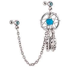 Dream Catcher Helix Earring 100 best Obscene Art Jewelry images on Pinterest Earring set Ear 77