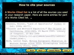 how to cite your sources mla style a guide to citing sources ppt video online download