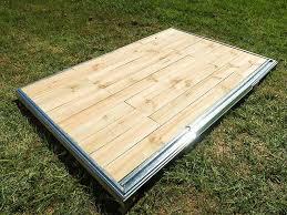 garden shed wooden floor kit
