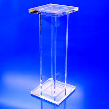 Acrylic Pedestal Display Stands Tall Square Stand Alone Acrylic Pedestal Displays Buy Bulk Displays 14