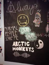 chalkboard wall art tumblr