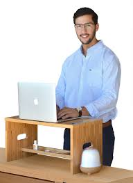 Standing Desk Extension Amazoncom Royal Craft Wood Standing Desk For Back Pain Relief