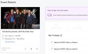 Rose Bowl Seating Chart Rolling Stones 2019 2 Floor Tickets Rolling Stones 5 11 19 Rose Bowl Pasadena