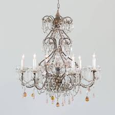 Antique French Light Fixtures Antique French Chandelier With Glass Crystals Chvp13092