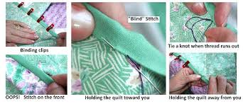 Hand Stitching The Binding To The Back Hand Sewn Quilt Pattern ... & Hand Stitching The Binding To The Back Hand Sewn Quilt Pattern Hand Quilting  Stitch Patterns For Adamdwight.com