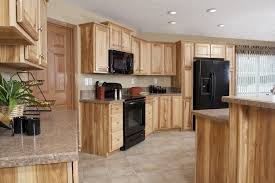 Glenwood Custom Cabinets Hickory Custom Built Cabinets In Kitchen In The Mulberry Ii Rx838a
