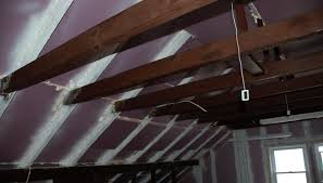 spray foam alternative xps attic diy