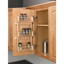 Kitchen Cabinet Door Organizer Pantry Door Storage Rack Home Depot