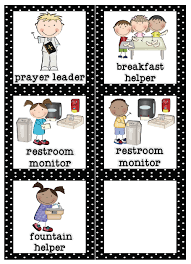 Classroom Job Chart Printable Free Mrs Lirette Learning Detectives Classroom Helpers Set Free