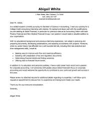 Best Training Internship College Credits Cover Letters Accounting
