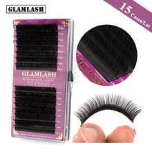<b>GLAMLASH</b> 15Cases/Lot 16Rows handmade faux mink lash ...