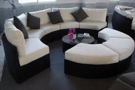 Exotic round sectional sofa gallery