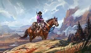 720x1440 Cowboy Painting 720x1440 ...