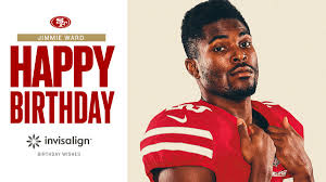 """San Francisco 49ers on Twitter: """"Happy birthday Jimmie! Hope you ..."""