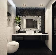 modern white bathroom ideas. Bathroom, Vintage Black And White Bathroom Ideas Rectangle Porcelain Bathtub Stainless Mounted Small Modern Wash