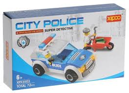 <b>Конструктор</b> Xipoo Block <b>Car</b> XP93503 City <b>Police</b> — купить по ...
