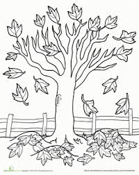 Coloring Pages For Trees Coloring Pages Of Trees Kids Free Printable