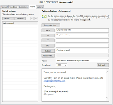 Automatic Respond How To Set Up Email Auto Responder On Microsoft Exchange