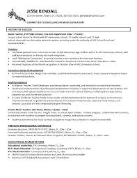 ... Resume example Music Industry Cover letter